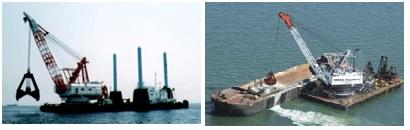 kapal bucked dredger